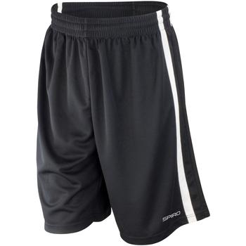 textil Herr Shorts / Bermudas Spiro S279M Svart/vit