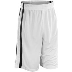 textil Herr Shorts / Bermudas Spiro S279M Vit/Svart