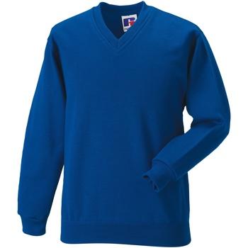 textil Barn Sweatshirts Jerzees Schoolgear 272B Ljusa kungliga