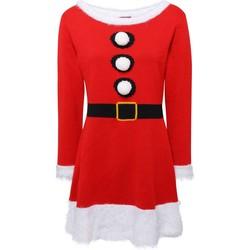 textil Dam Korta klänningar Christmas Shop CS039 Röd
