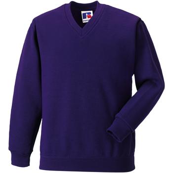 textil Barn Sweatshirts Jerzees Schoolgear 272B Lila