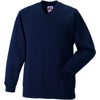 textil Barn Sweatshirts Jerzees Schoolgear 272B Franska flottan