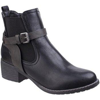 Skor Dam Boots Divaz  Svart