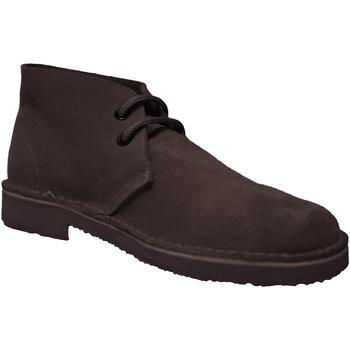 Skor Herr Boots Roamers  Mörkbrun