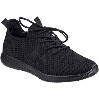 Skor Dam Sneakers Divaz  Svart