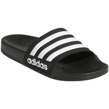 Skor Barn Flipflops adidas Originals Adilette Shower K Svarta