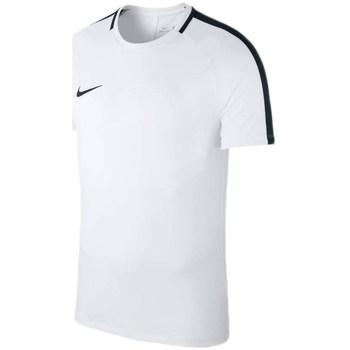 textil Herr T-shirts Nike Dry Academy 18 Vit