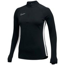 textil Dam Sweatjackets Nike Womens Dry Academy 19 Dril Top Svarta