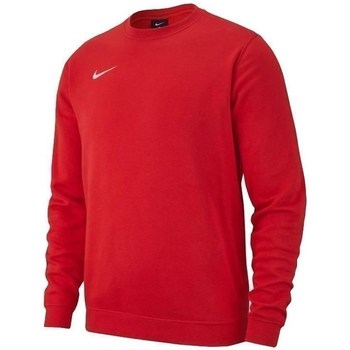 textil Pojkar Sweatshirts Nike JR Team Club 19 Fleece Röda