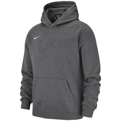 textil Pojkar Sweatshirts Nike JR Team Club 19 Fleece Grafit