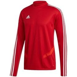 textil Herr Långärmade T-shirts adidas Originals Tiro 19 Training Top Röda