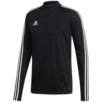 textil Herr Långärmade T-shirts adidas Originals Tiro 19 Training Top Svarta