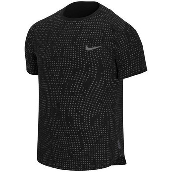 textil Herr T-shirts Nike Pro Breathe Svarta