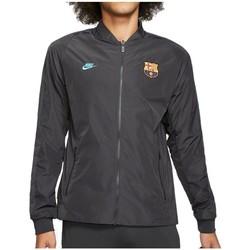 textil Herr Sweatjackets Nike FC Barcelona Nsw Grafit