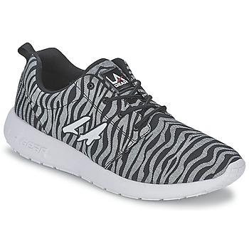 Skor Dam Sneakers L.A. Gear SUNRISE Grå / Svart