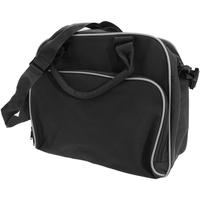 Väskor Barn Skolväskor Bagbase BG145 Svart/vit
