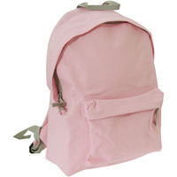 Väskor Ryggsäckar Bagbase BG125J Klassisk rosa/ljusgrå