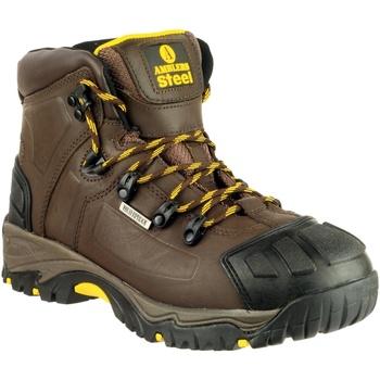 Skor Herr safety shoes Amblers 39 S3 WP CRAZYHORSE Galna hästen