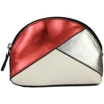 Väskor Dam Portmonnäer Eastern Counties Leather  Röd folie/tallsten/vit