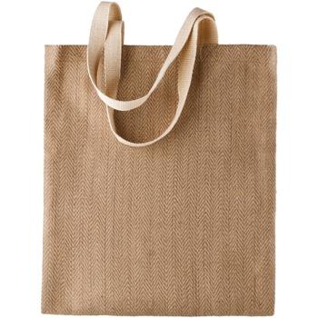 Väskor Dam Shoppingväskor Kimood  Naturlig/Cappucino