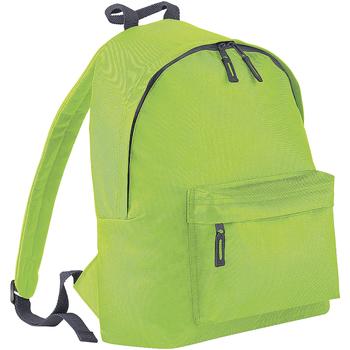 Väskor Ryggsäckar Bagbase BG125 Kalk/grafit