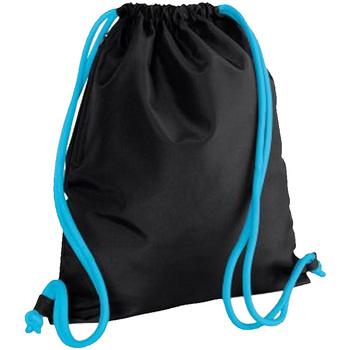 Väskor Barn Sportväskor Bagbase BG110 Svart/Surf Blue