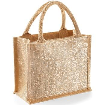 Väskor Shoppingväskor Westford Mill W431 Naturligt guld