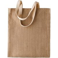 Väskor Dam Shoppingväskor Kimood KI009 Naturlig/Cappucino