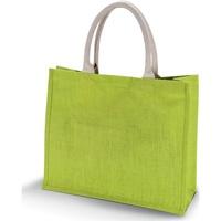 Väskor Dam Shoppingväskor Kimood KI011 Lime