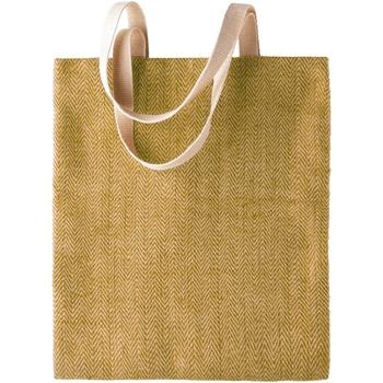 Väskor Dam Shoppingväskor Kimood KI009 Naturlig/Militärgrön
