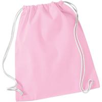 Väskor Barn Sportväskor Westford Mill W110 Klassisk rosa/vit