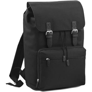 Väskor Ryggsäckar Bagbase BG613 Svart/Svart