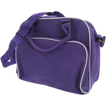 Väskor Barn Skolväskor Bagbase BG145 Lila/ljusgrå