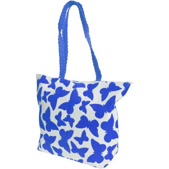 Väskor Dam Shoppingväskor Floso  Vit/blå