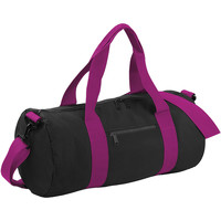 Väskor Resbagar Bagbase BG140 Svart/Fuchia