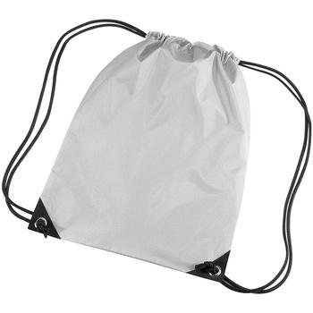 Väskor Barn Sportväskor Bagbase BG10 Silvergrå