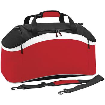 Väskor Sportväskor Bagbase BG572 Klassiskt rött/ svart/ vitt