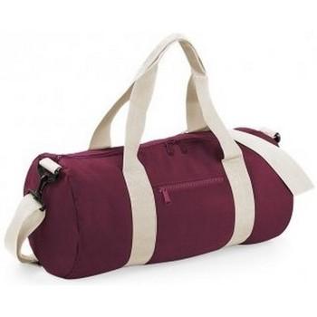 Väskor Resbagar Bagbase BG140 Burgundy/Off White