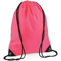 Väskor Barn Sportväskor Bagbase BG10 Fluorescerande rosa