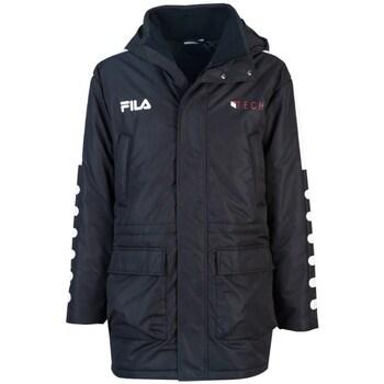 textil Herr Parkas Fila Verlin Padded Jacket Svarta