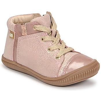 Skor Flickor Höga sneakers GBB OUNA Rosa