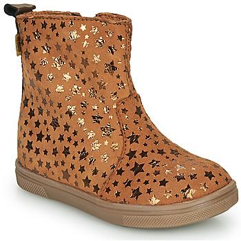 Skor Flickor Boots GBB ERNA Cognac