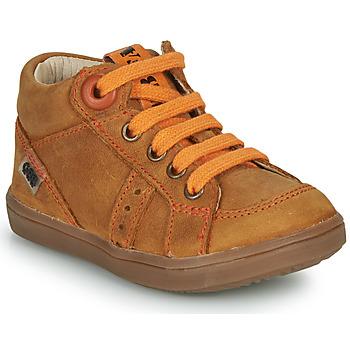 Skor Pojkar Höga sneakers GBB ANGELITO Cognac