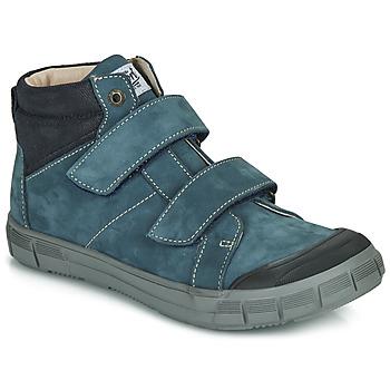 Skor Pojkar Höga sneakers GBB HENI Blå