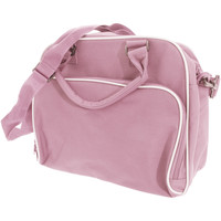 Väskor Barn Skolväskor Bagbase BG145 Klassisk rosa/ljusgrå