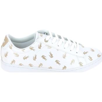 Skor Barn Sneakers Lacoste Carnaby Evo C Blanc Or Vit