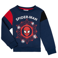 textil Pojkar Sweatshirts TEAM HEROES SPIDERMAN SWEAT Marin
