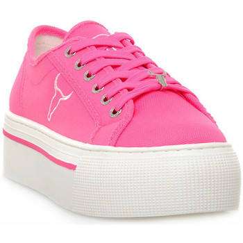Skor Dam Sneakers Windsor Smith RUBY CANVAS NEON PINK Rosa