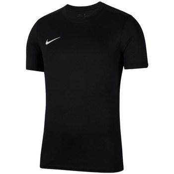 textil Pojkar T-shirts Nike JR Dry Park Vii Svarta