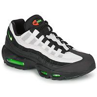Skor Herr Sneakers Nike AIR MAX 95 Svart / Vit / Grön